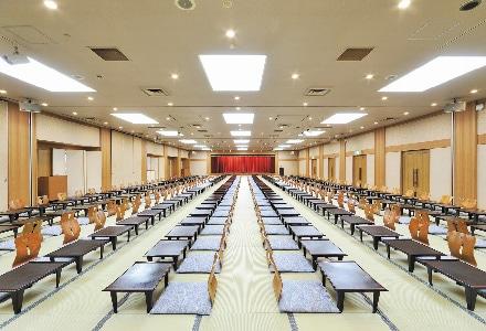 大きな宴会場の写真