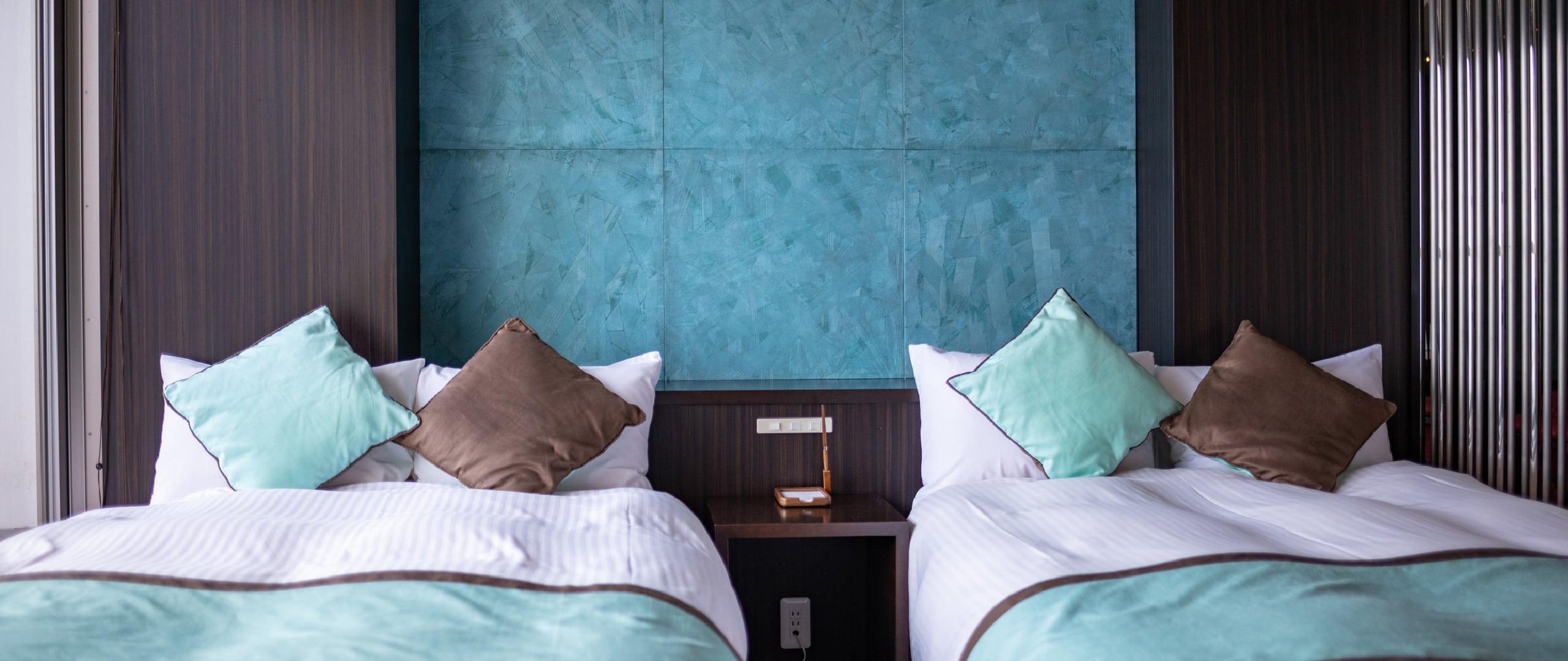 二台のベッド