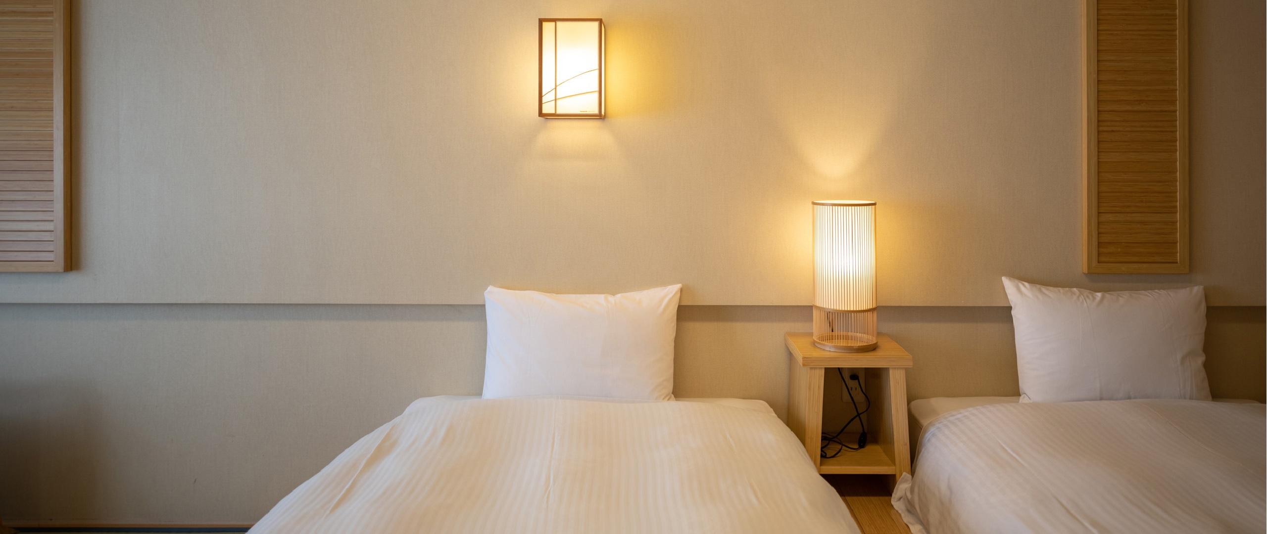 使いやすいシンプルなベッド